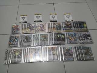 Standard nova grappler deck cardfight vanguard