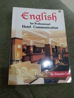 English for hotel professional