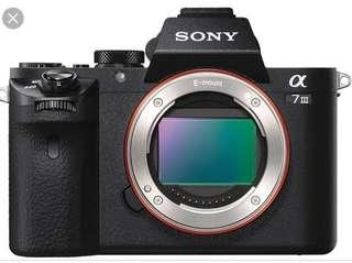 Sony a7 mkiii (B)