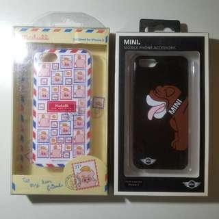 iPhone Case 5 5s se 保護套 麥兜 mini老虎狗