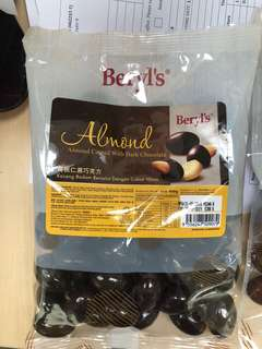 Beryls Almond coated with milk chocolate