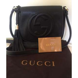 Gucci Soho Leather Sling bag