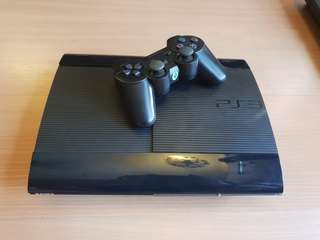Sony Playstation 3 (PS3) super slim 500gb + 2 free game