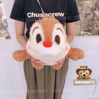 【Wenwens】日本帶回 迪士尼 奇奇 蒂蒂 花栗鼠 松鼠 絨毛 娃娃 布偶 玩偶 大小約41cm 景品 單售蒂蒂款