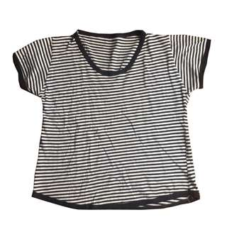 Tuck and Tale Striped Top