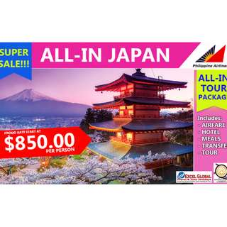 All In Japan Tour Package Super Sale