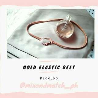 🌸MnM #9: Gold Elastic Belt