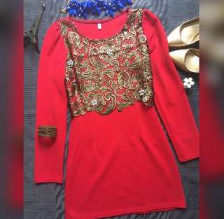 Sale Red Dress