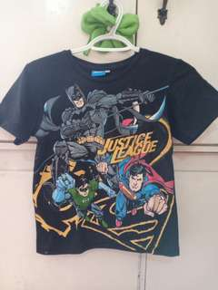 Justice League Boys Shirt