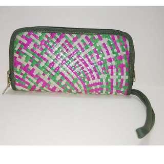 Sabutan large wallet Green