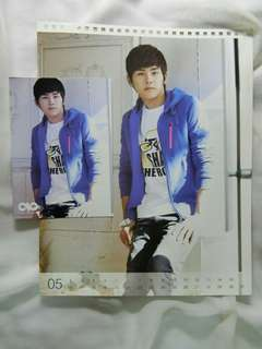 [KPOP] Infinite Hoya 2012 Official Photocard + Calendar photo