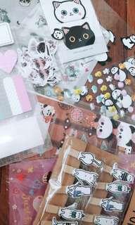 Cute stickers grabbags🍥