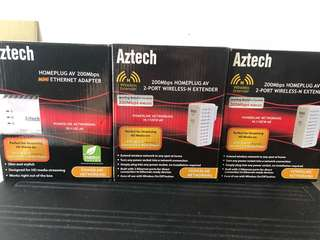 Aztech Homeplug Kit (Transmitter & Receiver)