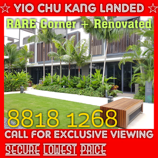 ONLY $900psf for LAST 18 Units of NEW LANDED Houses !!