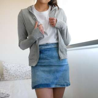 Grey Sweater/Jacket