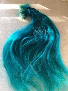 Coloured Ink Hair Extensions