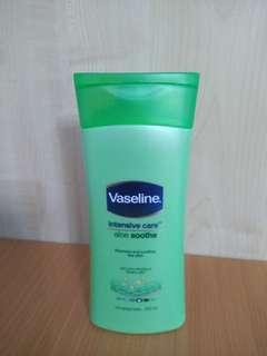 Vaseline Aloe Smoothe intensive moisturiser 200ml cheap!