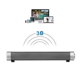 Bluetooth 3.0 Wireless Soundbar Built-in Subwoofer Multifunctional Speaker