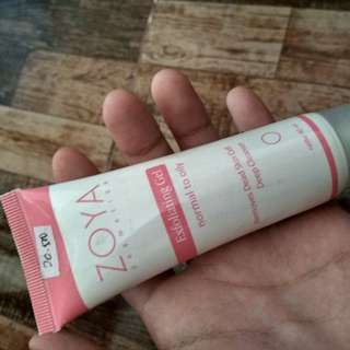 Zoya exfoliating gel