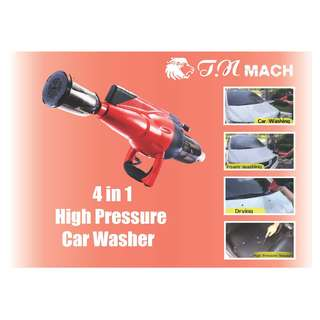 4 in 1 High Pressure Car Washer