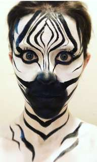 Theme makeup and face painting