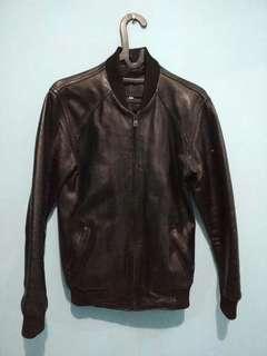 Jaket kulit pria handmade Garut