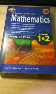 Complete Guide to Mathematics (Sec 1 and 2)
