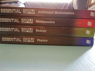 Sasbadi SPM - Add Maths, Maths, Biology & Physics
