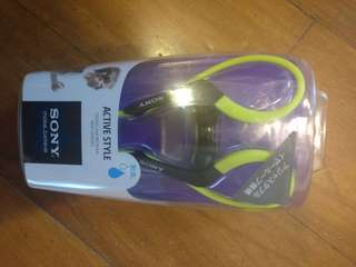Sony Active Style Sports Wired Earphones Brand New