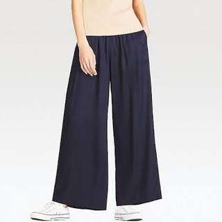 Uniqlo wide leg pants