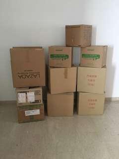 Used Empty Cartons #7
