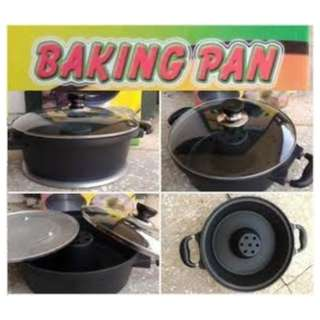 Baking Pan Cetakan Kue Bolu Tanpa Oven Praktis Bahan Tebal