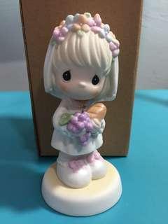 Buy 3 Get 1 Free : Precious Moments Girl Figurine: For His Precious Love