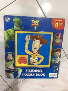 Toy Story 3, Sliding Puzzle Book