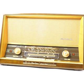 Saba Freiburg 125 Vintage Tube radio