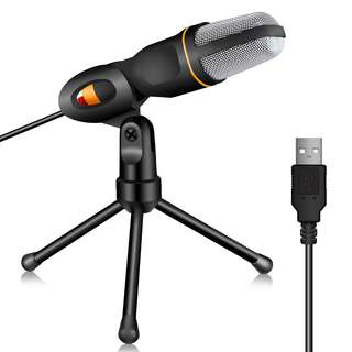 539. TONOR PC Microphone USB Computer Condenser Studio Mic Plug & Play with Tripod Stand for Chatting/Skype/Facetime/Youtube/Recording/Singing/Podcasting for iMAC PC Laptop Desktop Windows Computer