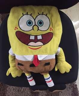 Spongebob cuddle pillow soft toy