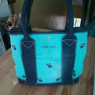 Patterned fabric bag
