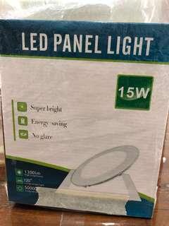 LED 15w (4pcs @$20) Round White Light