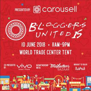 Carousell presents Bloggers United 15 🎉