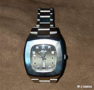 Vtg Mido Multi-Star Automatic Watch