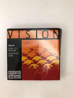 Vision Violin Strings 1/2 size
