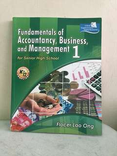 Fundamentals of Accountancy, Business, and Management 1 (HALF PRICE)