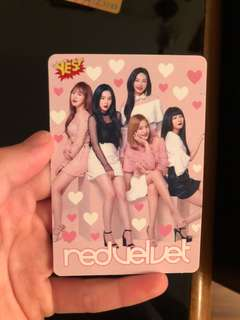 YES卡 Red Velvet 夜光卡