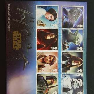 Star wars 7 first day cover