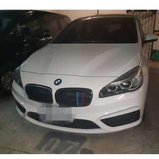 2014年218D2.0白色總代理跑8.7萬   大桃園優質二手中古車買賣