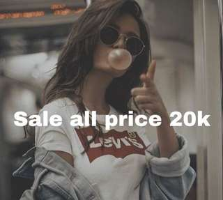 Sale all price 20k