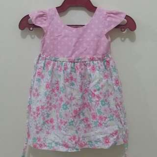 Crib Couture Pink Floral Dress