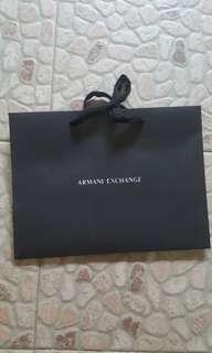 Armani Exchange Paper Bag
