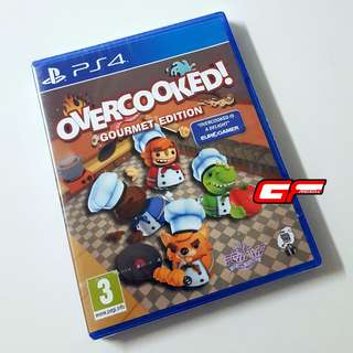 PS4 OVERCOOKED!